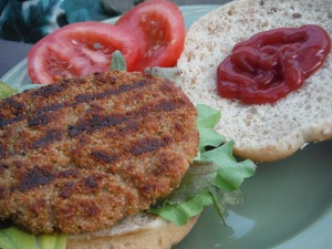 Grilled Amaranth Patties